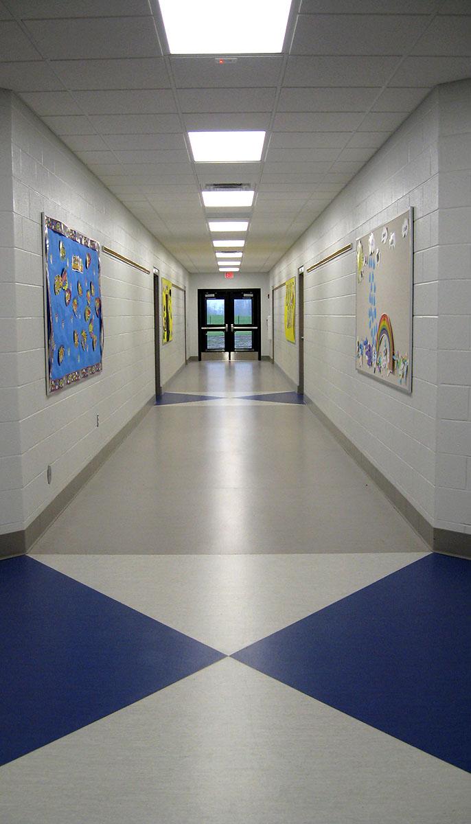Cass ISD Brookside main hall