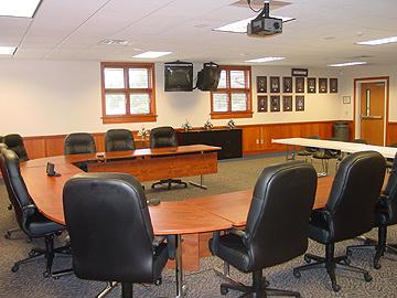 Edwardsburg School Admin room