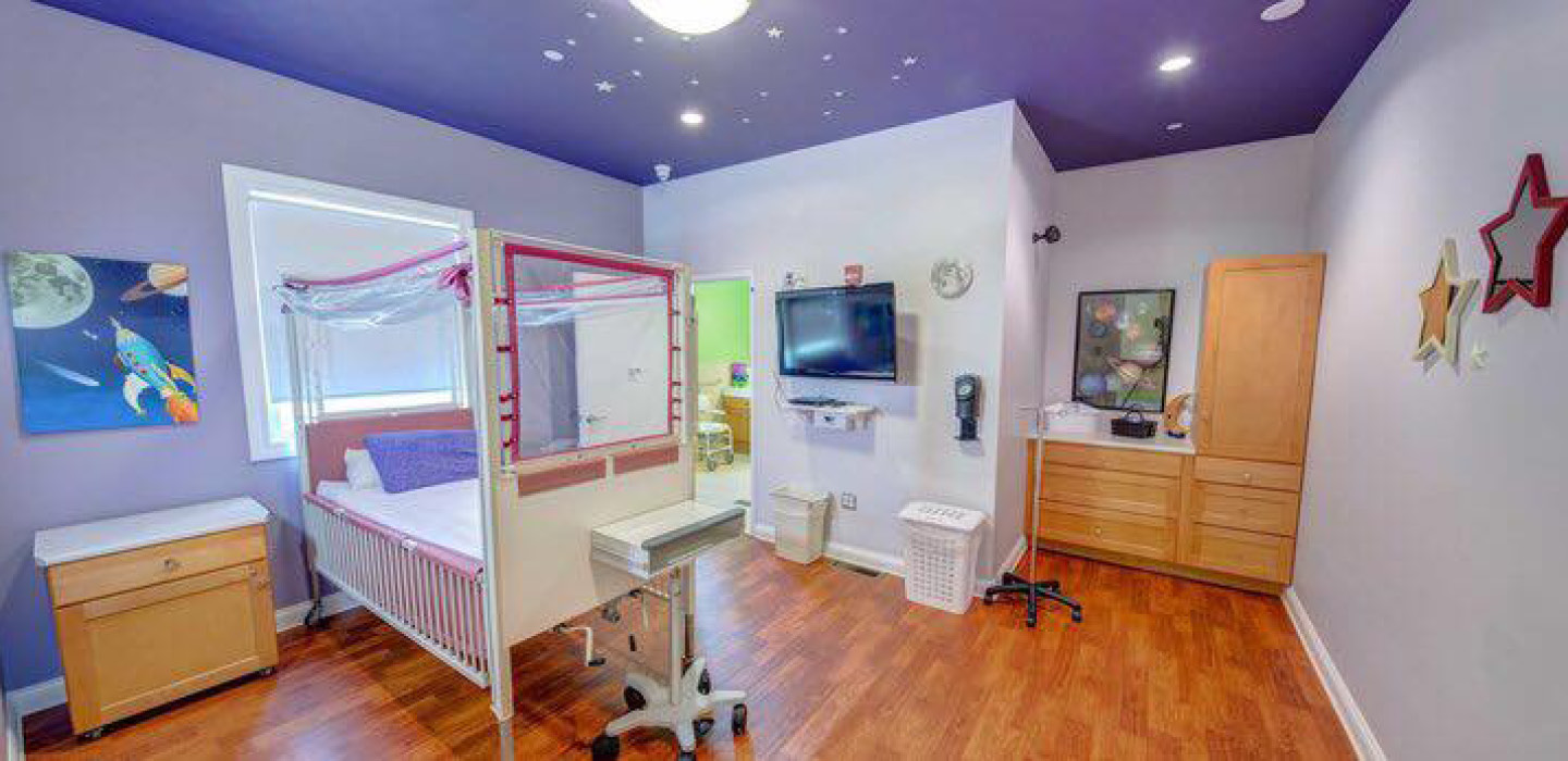 A Rosie Place for Children galaxy room design
