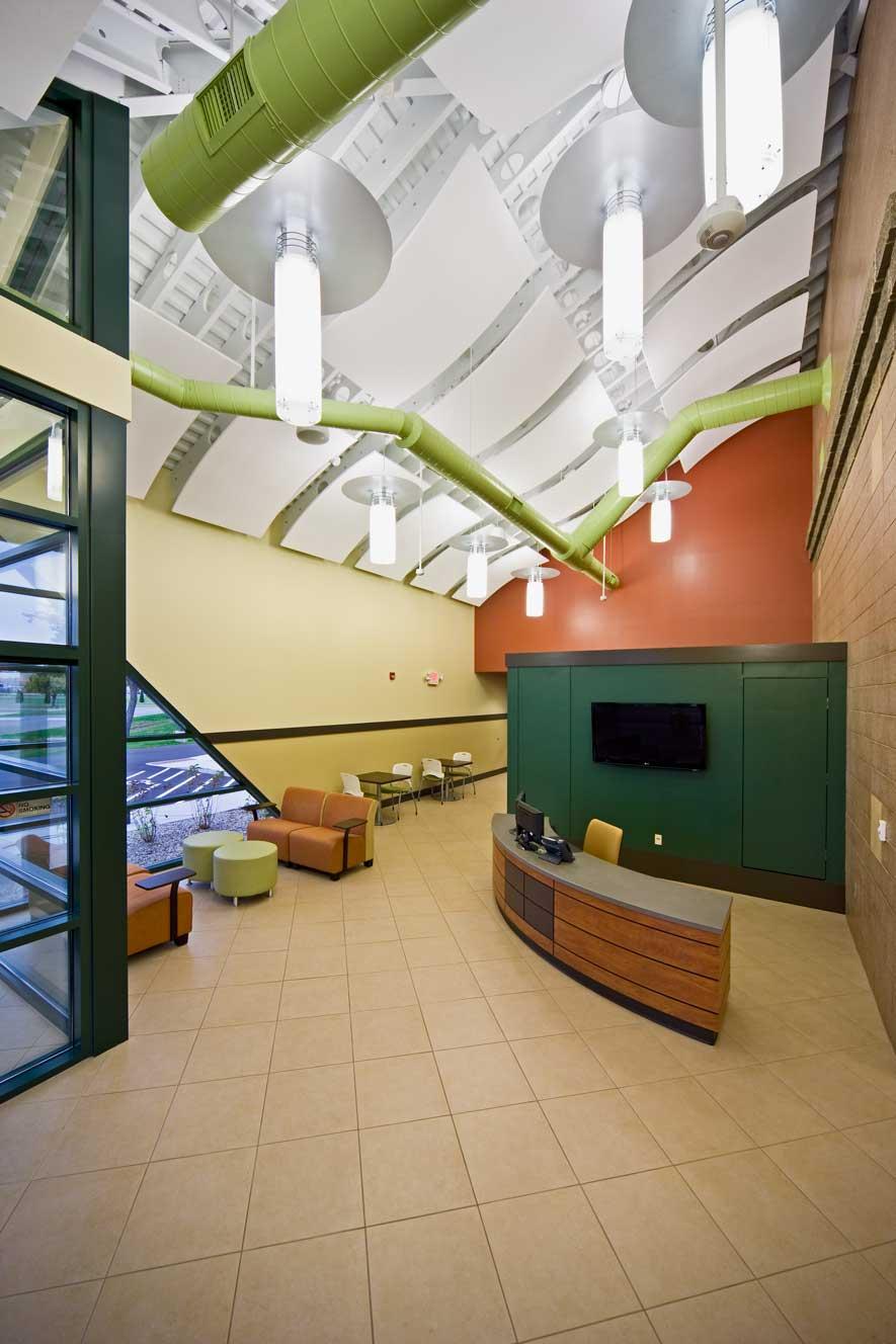BSPS Virtual Academy main lobby hallway