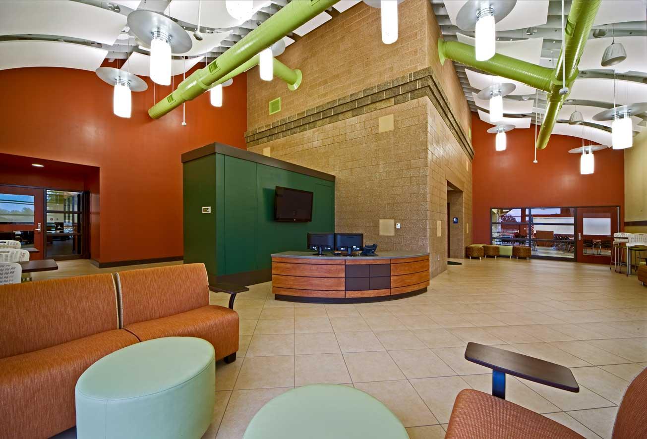 BSPS Virtual Academy lobby area