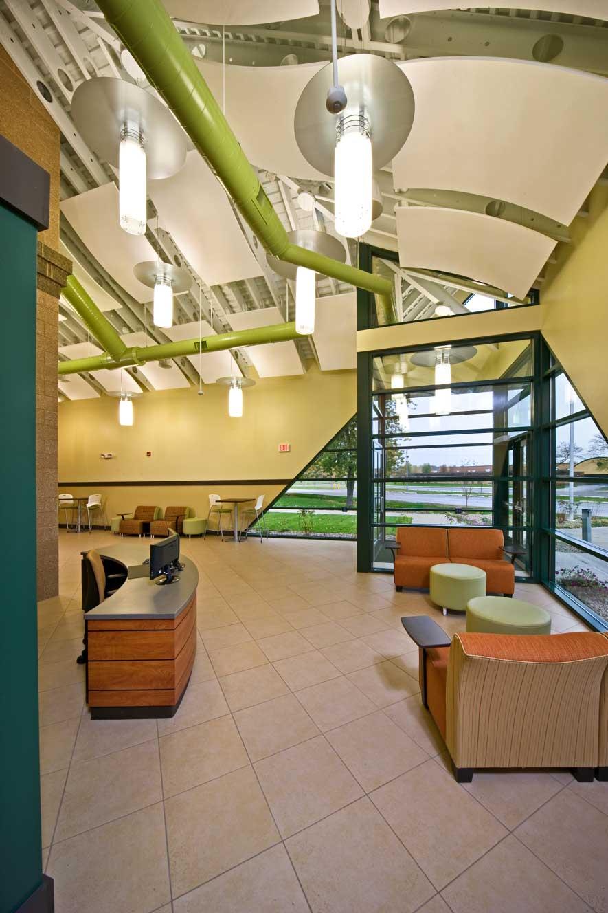 BSPS Virtual Academy school lobby