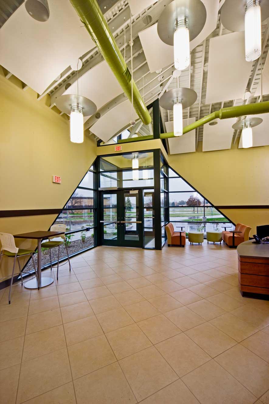 BSPS Virtual Academy school entrance interior