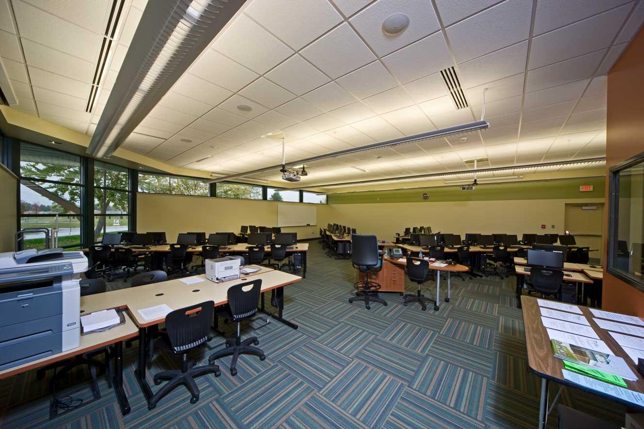 BSPS Virtual Academy inside classroom