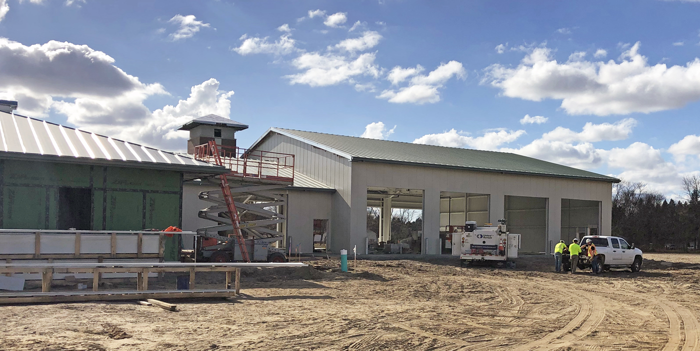 Cleveland Township Fire Station Progress