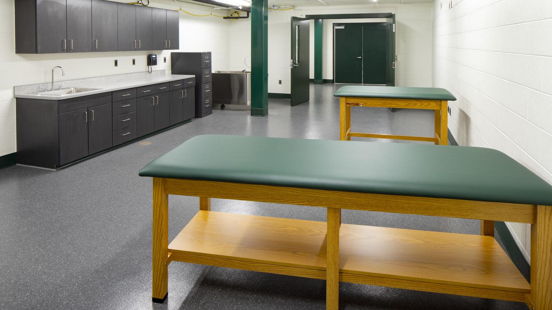 Sylvester Stadium Recovery Room