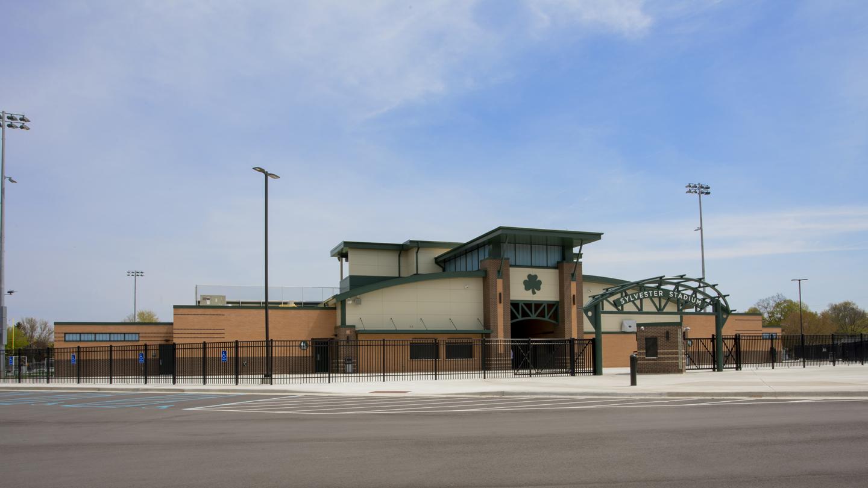 Sylvester Stadium Front Exterior
