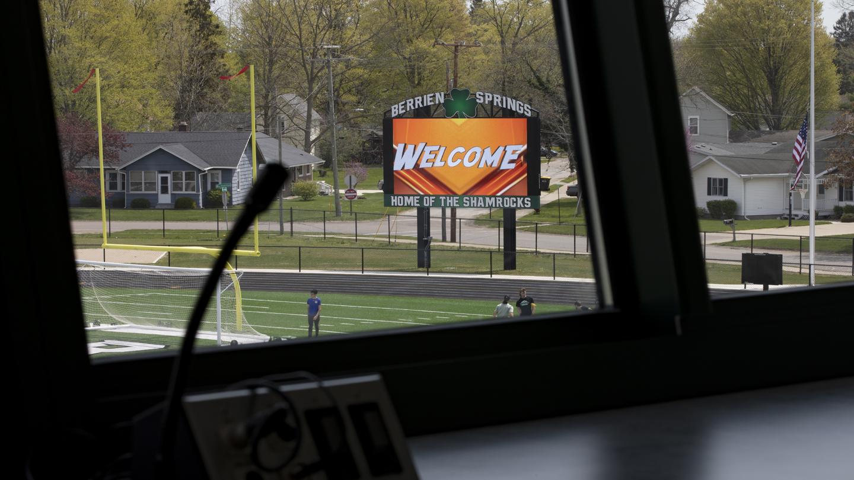 Berrien Springs Sylvester Stadium - Digital Sign -Blog