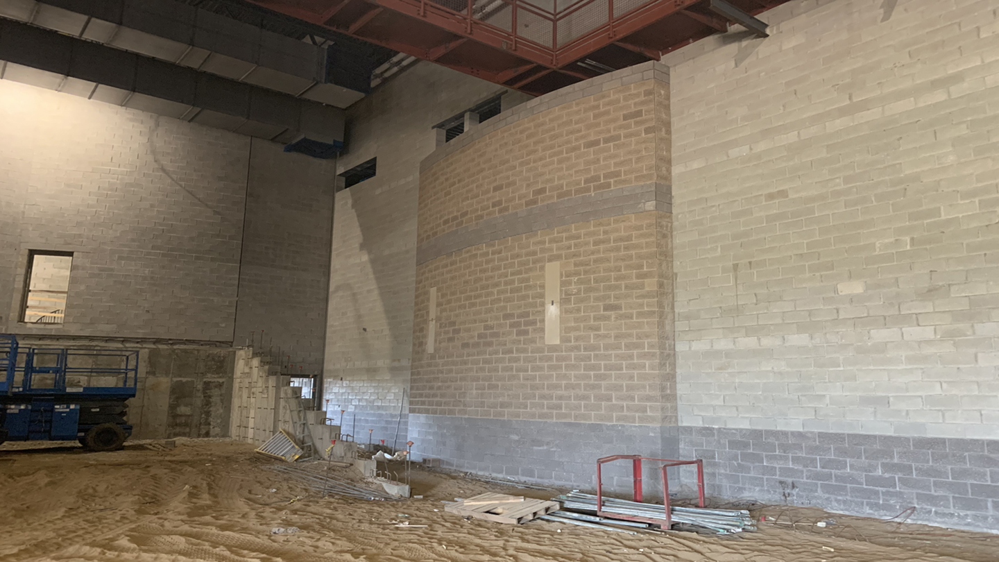 Arts and Athletic Center Construction