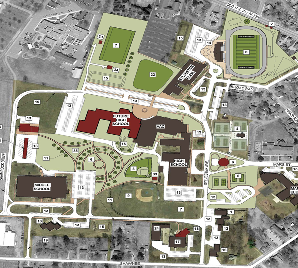 Berrien Springs Master Plan - Property Acquisition